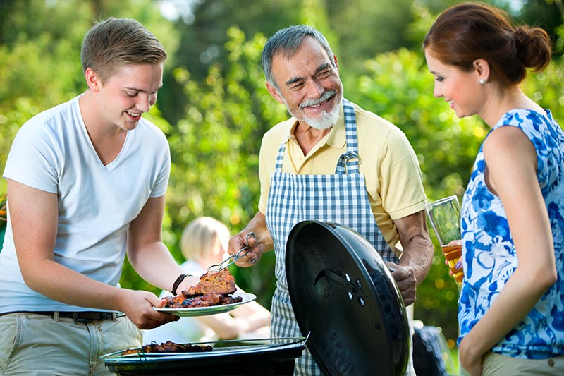 outdoor cooking in kennedy township